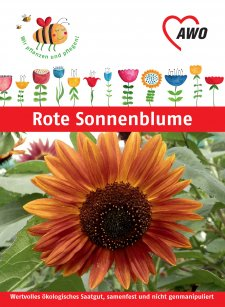 RoteSonnenblume