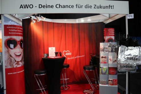 AWO Messestand 2018